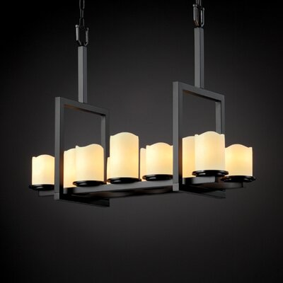 Dakota CandleAria 10 Light Bridge Chandelier