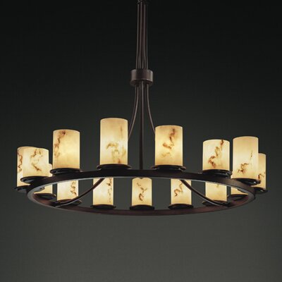 LumenAria Dakota 15 Light Chandelier