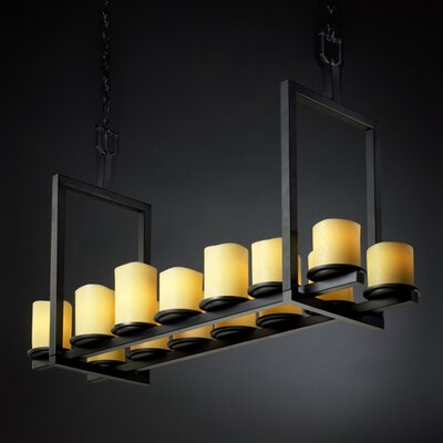 Justice Design Group CandleAria Dakota 14 Light Chandelier