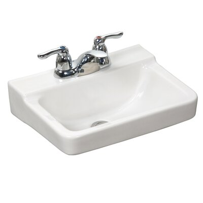 Crane Faucet Squire Wall Mounted Bathroom Sink