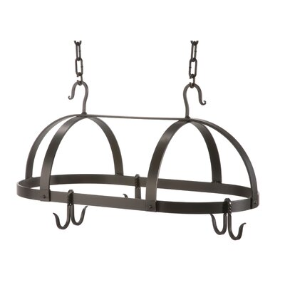 Stone County Ironworks Oval Dutch Pot Rack
