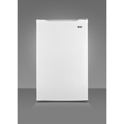 "Summit Appliance 33.63"" x 19.63"" Refrigerator Freezer in White"