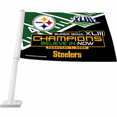 Rico Industries Inc Super Bowl XLV Car Flag