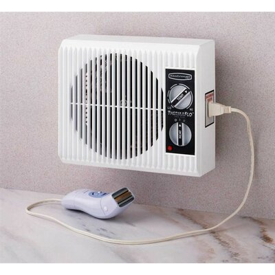 "SeaBreeze Electric ""Off the Wall"" Bed/Bathroom Heater"