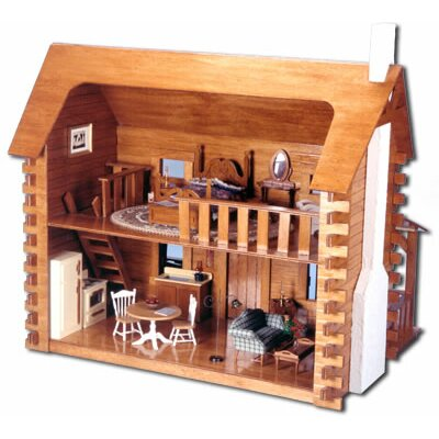Greenleaf Dollhouses Creekside Cabin Dollhouse Kit