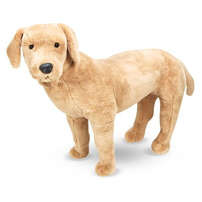 Melissa and Doug Large Yellow Lab Plush Stuffed Animal
