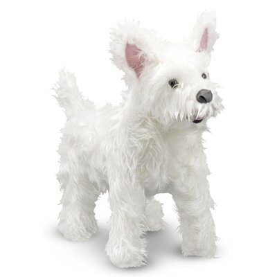 Melissa and Doug West Highland Terrier (Westie) - Plush