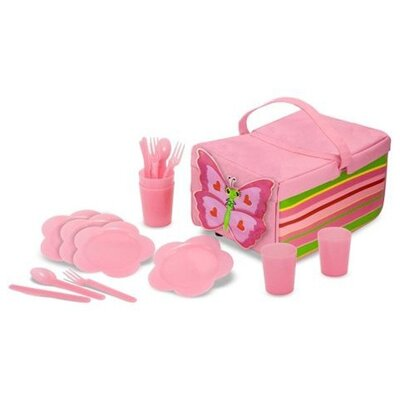Melissa and Doug Bella Butterfly Picnic Set
