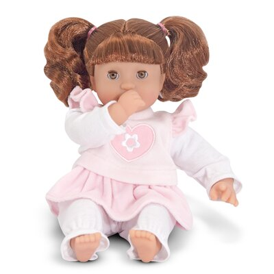 "Melissa and Doug Brianna 12"" Doll"