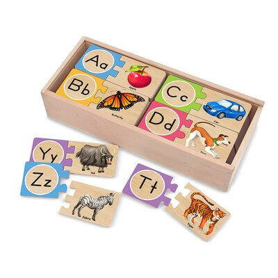Melissa and Doug Self-Correcting Letter Puzzle