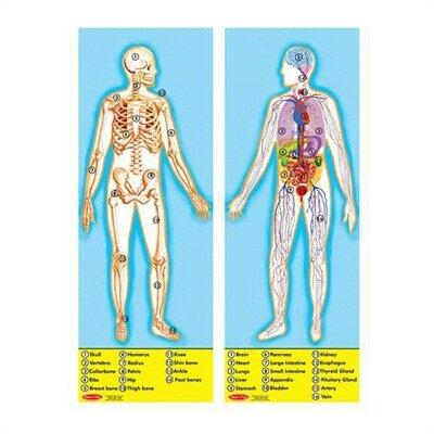 Melissa and Doug Human Body Puzzle (100 pcs)