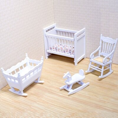 Melissa and Doug Dollhouse Nursery Furniture