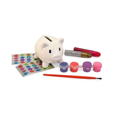 Melissa and Doug DYO Piggy Bank Arts & Crafts Kit