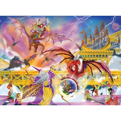 Melissa and Doug Dragon Storm Cardboard Jigsaw Puzzle