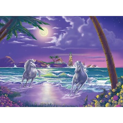 Melissa and Doug Seaside Stallions Cardboard Jigsaw Puzzle