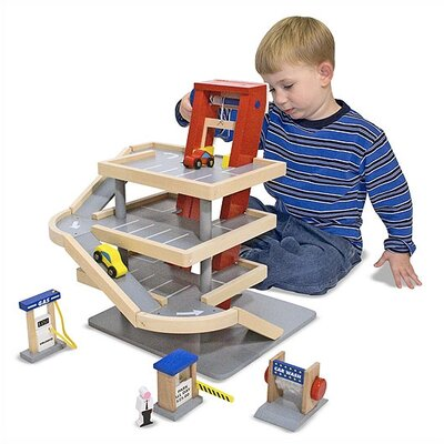 Melissa and Doug Parking Garage