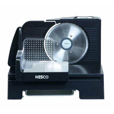 Nesco 150 Watt Slicer and Removable Motor in Black
