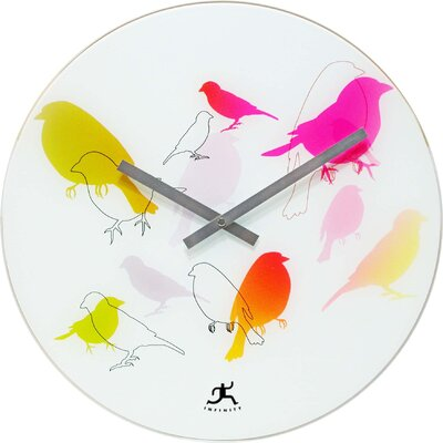 Infinity Instruments Early Bird Wall Clock