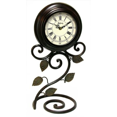 Infinity Instruments Iron Perennial Table Clock