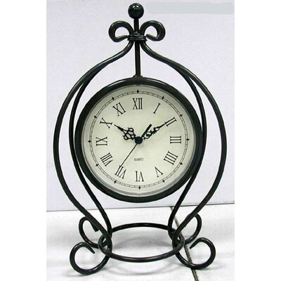 Infinity Instruments Metal Table Clock