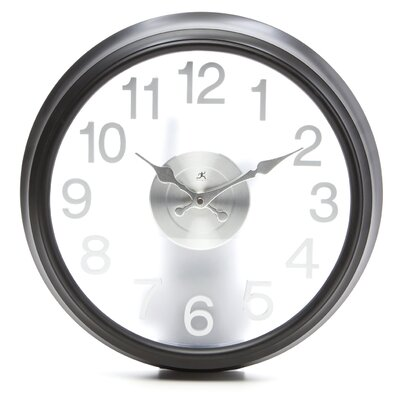 Infinity Instruments The Onyx Black Wall Clock