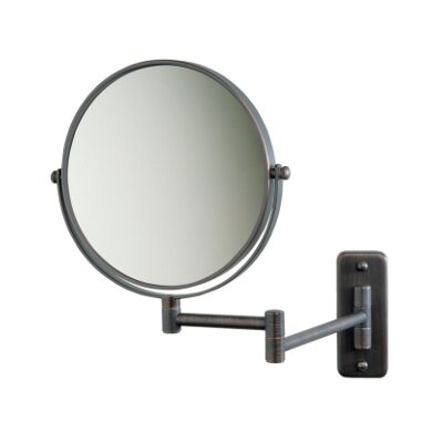 Jerdon Regular 5X Magnifying Wall Mounted Mirror
