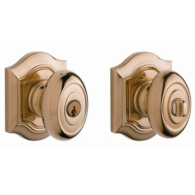 Baldwin Bethpage Keyed Entry Knob