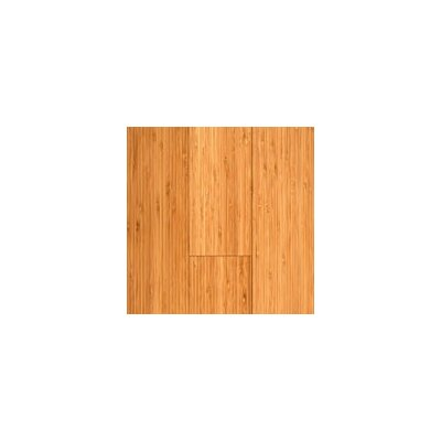 "Hawa Bamboo Vertical 5-3/8"" Engineered Bamboo Flooring in Carbonized Matte"