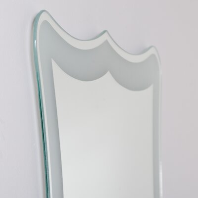 Decor Wonderland Coquette Frameless Wall Mirror
