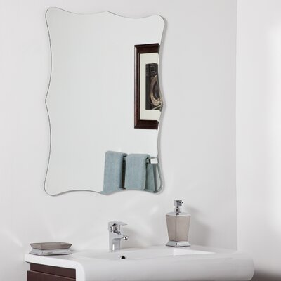 Decor Wonderland Bailey Modern Bathroom Mirror
