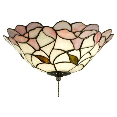 Dale Tiffany Dylan Tiffany 3 Light Flush Mount | Wayfair
