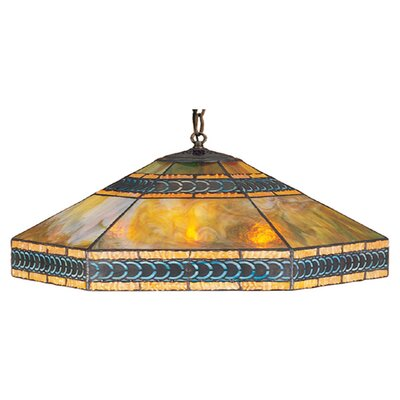 Meyda Tiffany Mission 3 Light Pendant