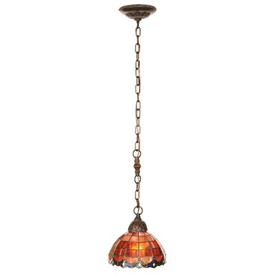 Meyda Tiffany Victorian Nouveau Elan 1 Light Mini Pendant