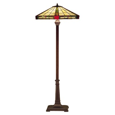 "Meyda Tiffany 65"" H Wilkenson Floor Lamp"