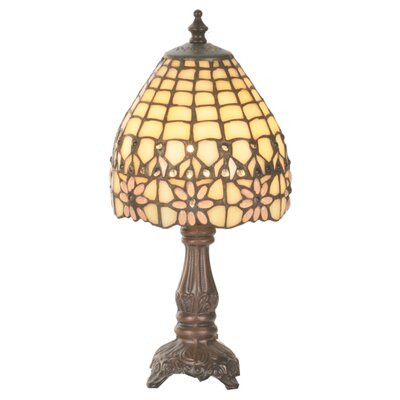 Meyda Tiffany Victorian Flourish Mini Table Lamp