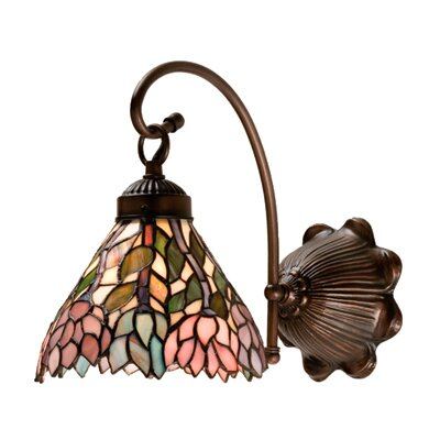 Meyda Tiffany Wisteria 1 Light Wall Sconce