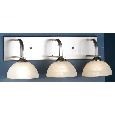 Meyda Tiffany Manhattan Three Light Vanity