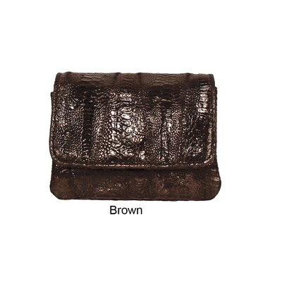 Latico Leathers Amazonia Dakota Small Flap Over Wallet