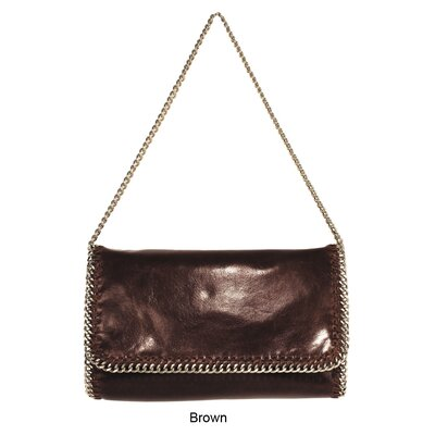 Latico Leathers Mimi in Memphis Crawford Flap Over Chain Shoulder Bag