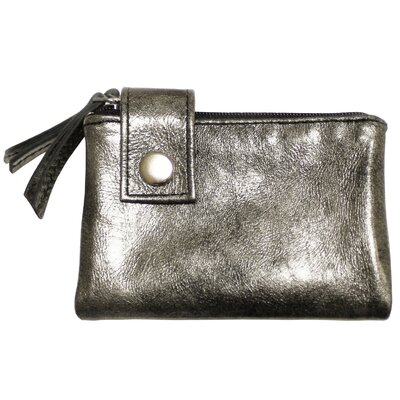 Latico Leathers Art Yasmine Medium Double Zip Wallet