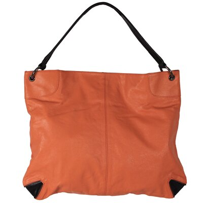 ColorBlock Jackie Metallic Hobo Bag