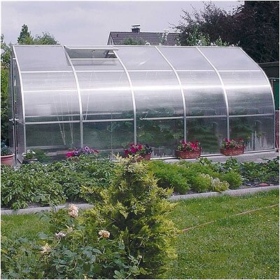 Hoklartherm RIGA V Polycarbonate Commercial Greenhouse