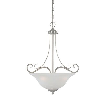 Designers Fountain Stratton 3 Light Inverted Pendant