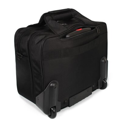 J World Sheffield Laptop Rolling Briefcase