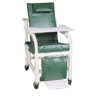 MJM International Extra Wide Geriatric Chair with Leg Extensions