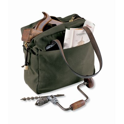 Filson Tote Bag with Zipper in Otter Green