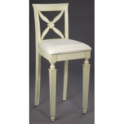 AA Importing Bar Stool in White