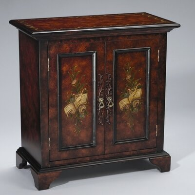 AA Importing Cabinet in Black/Brown