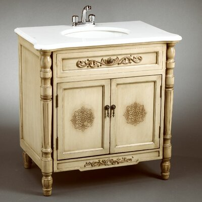 AA Importing Vanity in Antique Ivory