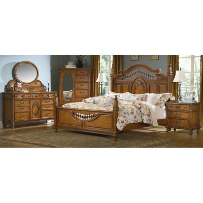 kathy ireland Home by Vaughan Southern Heritage Panel Bedroom Collection